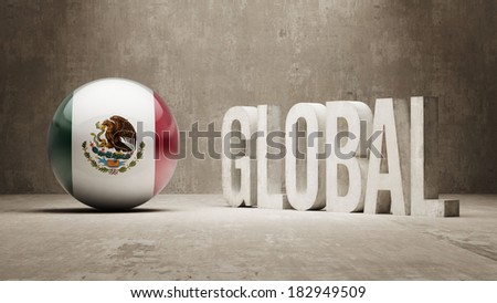 Mexico High Resolution Global  Concept