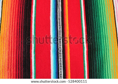 Mexico poncho serape traditional mexican cinco de mayo rug poncho mexicana fiesta background with stripes copy space