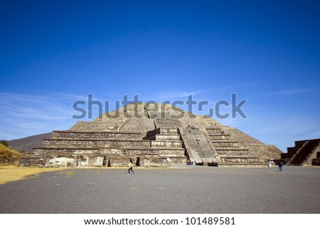 mexico/pyramids/ - stock photo