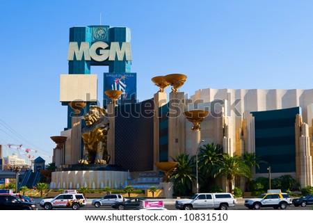 MGM Casino in Las Vegas - stock photo