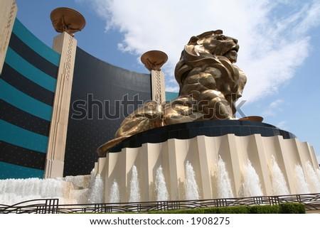 MGM grand hotel - stock photo