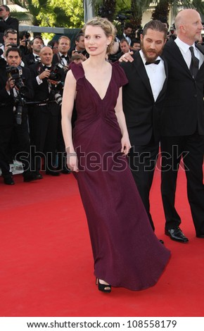 Mia Wasikowska arriving for the 'Lawless' premiere at the 65th Annual Cannes Film Festival, Cannes, France. 20/05/2012 Picture by: Henry Harris / Featureflash