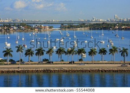 Miami day,Florida , USA. - stock photo