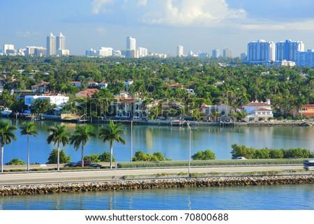 Miami day,Florida , USA. - stock photo