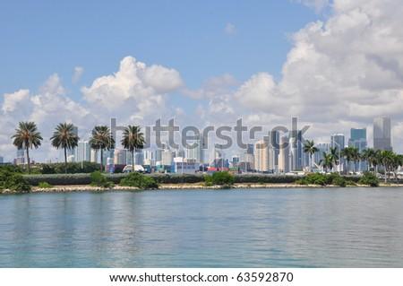 Miami in Florida - stock photo