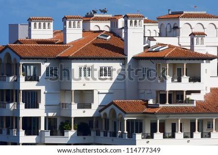 Miami residence - stock photo
