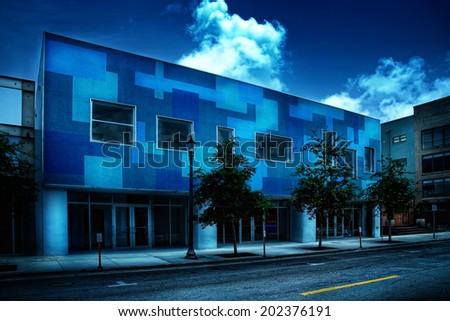 Miami street 1 - stock photo