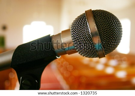 Mic in Church