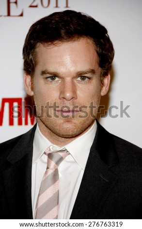 Michael C. Hall at the 2011 Taste For A Cure held at the Beverly Wilshire Hotel in Los Angeles on April 15, 2011.