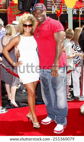 "Michael Clarke Duncan attends the Los Angeles Premiere of ""Kung Fu Panda"" held at the Grauman's Chinese Theater in Hollywood, California, United States on June 1, 2008. - stock photo"