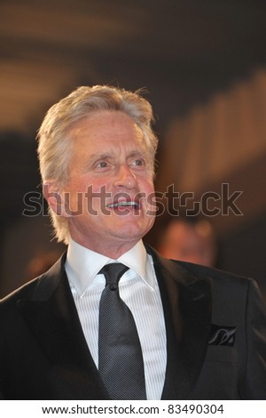 "Michael Douglas at the premiere screening of their movie ""Wall Street: Money Never Sleeps"" at the 63rd Festival de Cannes. May 14, 2010  Cannes, France Picture: Paul Smith / Featureflash"