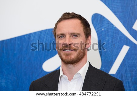Michael Fassbender  at the photocall for The Light Between Oceans at the 2016 Venice Film Festival. September 1, 2016  Venice, Italy