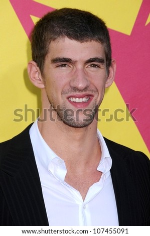 Michael Phelps  at the 2008 MTV Video Music Awards. Paramount Pictures Studios, Los Angeles, CA. 09-07-08