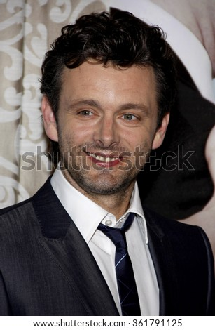 "Michael Sheen at the Los Angeles Premiere of ""The Special Relationship"" held at the Director's Guild of America in Hollywood, California, United States on May 19, 2010."