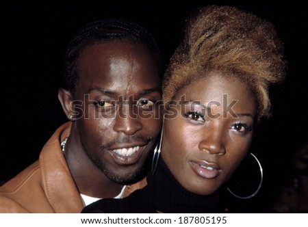 Michael Williams and Yolanda Ross at premiere orf BROWN SUGAR, NY 10/7/2002