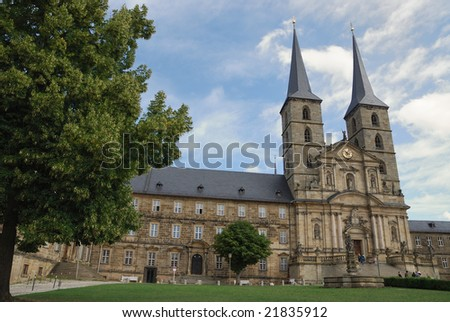 Michaelsberg Monastery in Bamberg (Germany, Bavaria)