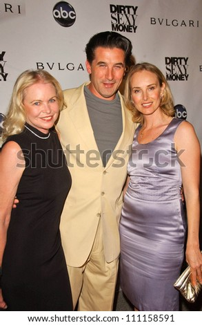 "Michelle Phillips with William Baldwin and Chynna Phillips at the Screening Party for ""Dirty Sexy Money"". Paramount Theatre, Los Angeles, CA. 09-23-07"