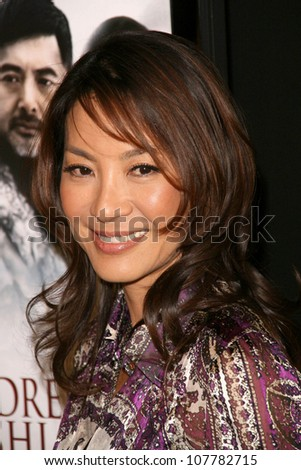"Michelle Yeoh  at the Los Angeles Premiere of ""The Children of Huang Shi"". The Landmark Theatre, Westwood, CA. 05-15-08"