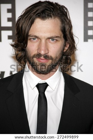 Michiel Huisman at the 64th Annual ACE Eddie Awards held at the Beverly Hilton Hotel in Los Angeles, United States, 070214.  - stock photo