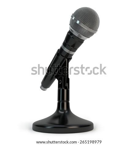 microphone - stock photo