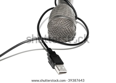 Microphone connected