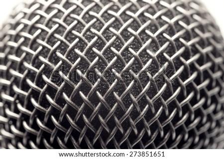 microphone texture - stock photo