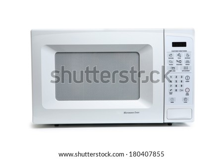 Microwave - stock photo