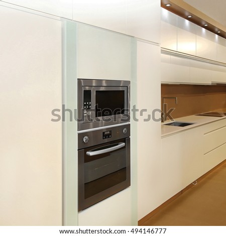 Microwave And Convection Oven Built In New Cabinet