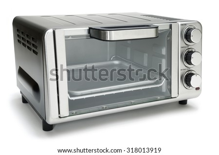 Microwave oven on background  - stock photo