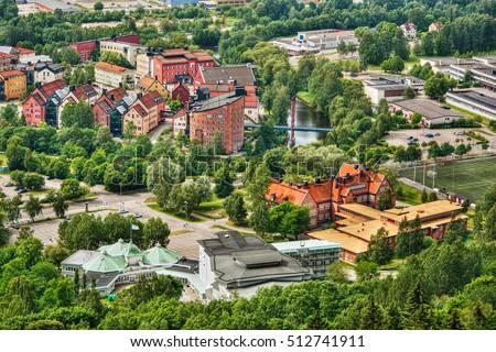 Sundsvall Stock Images RoyaltyFree Images Vectors Shutterstock - Mid sweden university map