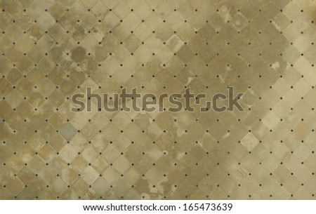Middle age church floor - stock photo