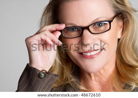 Middle Aged Businesswoman - stock photo