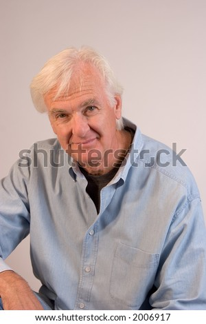 Middle-aged Man - stock photo