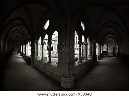 Middle Ages Collegial - stock photo