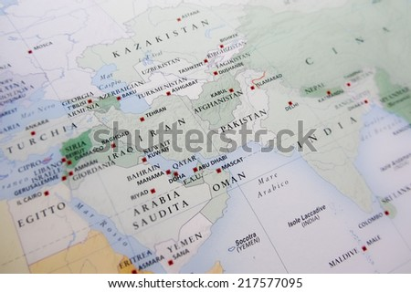 Middle East - stock photo