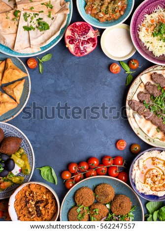 Middle eastern arabic dishes assorted meze imagen de archivo stock middle eastern arabic dishes assorted meze imagen de archivo stock 562247557 shutterstock forumfinder Gallery