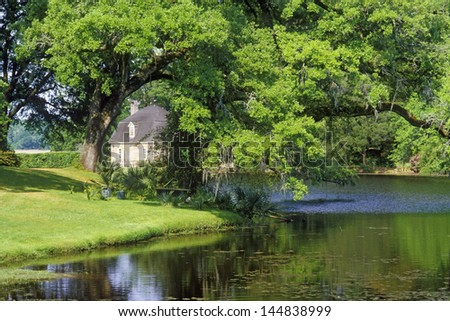 Middleton Place Plantation, Charleston, SC - stock photo