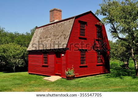 Gambrel Roof Stock Images Royalty Free Vectors