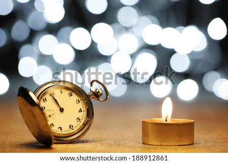 Midnight celebration background - stock photo