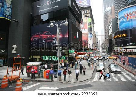 Midtown manhattan - new york - stock photo