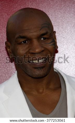 "Mike Tyson at the Los Angeles Premiere of ""The Hangover Part II"" held at the Grauman's Chinese Theater in Los Angeles, California, United States on May 19, 2011."