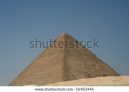 Mikerin pyramid in Egypt, Giza - stock photo