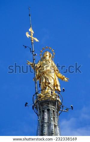 Milan Cathedral  - stock photo