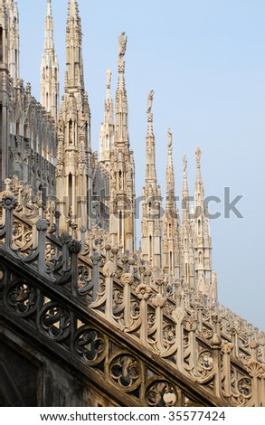 Milan Cathedral (Duomo di Milano) is the cathedral church of Milan in Lombardy, northern Italy.