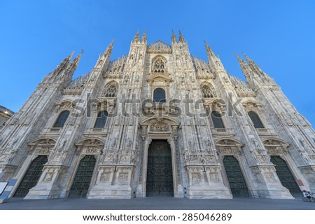 Milan Cathedral, Italy - stock photo