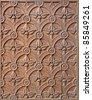 Milan - detail from church gate - stock photo