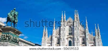 Milan - Italy - stock photo