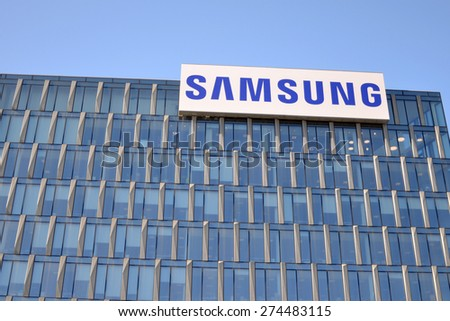 MILAN, ITALY - APRIL 30: Samsung building on April 30, 2015 in Milan, Italy  - stock photo