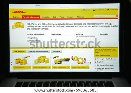 Dhl logistics company information