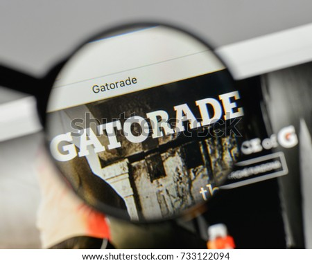 Milan Italy August 10 2017 Gatorade Stock Photo Royalty Free